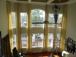 Living Room Curtain Ideas For Bay Windows by Drapery Designs For Living Room Living Room Measurements Remember