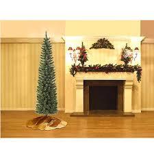 Pre Lit Pencil Cashmere Christmas Tree by Jaclyn Smith 7 U0027 Slim Pre Lit Virginia Cashmere Pine Christmas Tree