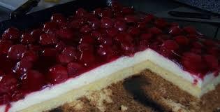 kirsch pudding blechkuchen kochmeister rezept