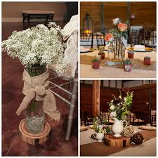 Stunning Rustic Wedding Decorationscenterpiecescollage Has Decorations