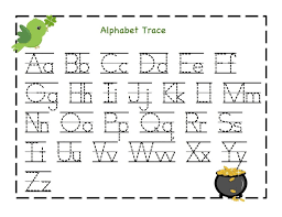 Freeen Alphabet Worksheets Math Printable Letter Recognition Free