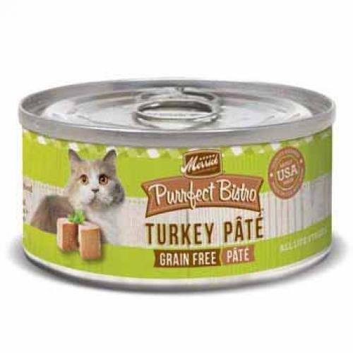 Merrick Purrfect Bistro Cat Food - Turkey Pate