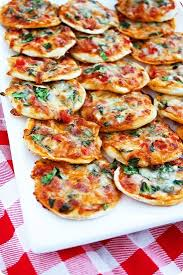 Make Your Own Mini Pizzas Homemade Pizza Dough On Thin Crust