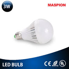 low voltage 3hrs persistance 3w ce rohs bulb types manufacturer