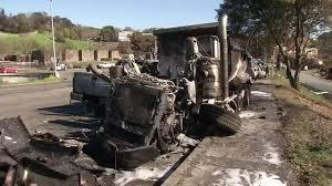 100 Dump Truck Crash Police Say Dump Truck Driver Skipped Inspection Before Santa Rosa