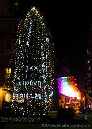 Gumdrop Christmas Tree by December 2013 100 Weeks In Rome