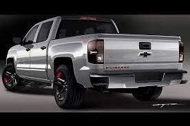 100 Chevy Silverado Truck Parts 2016 Chevrolet Colorado Red Line Concepts Shown Ahead Of SEMA