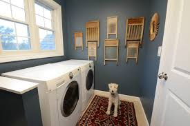 Laundry Room With Vintage Rugs — Quint Magazine Fascinating Room