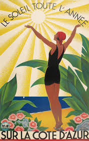 The Sun All Year On Cote DAzur 1931