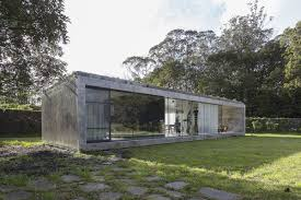 100 Concrete Home Striking Concrete And Glass Home Has A Twist Curbed