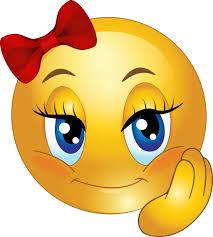 512x569 Cute Girl Smiley Faces Pretty Emoticon Clipart