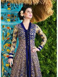 Latest Net Party Wear Gown Dress New Fashionable Suits For Girls Women 6
