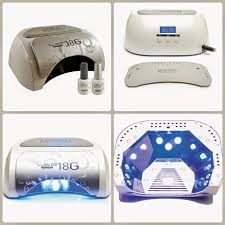 Gelish 18g Led Lamp Canada by Fun And Chic Nails Diferencias Entre Lamparas Uva Y Lamparas Led