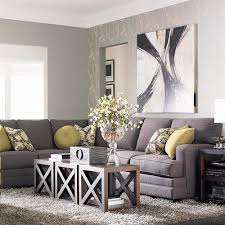 Cindy Crawford White Denim Sofa by Gray Sectional Gray Velvet Sectional View Full Size Large Size
