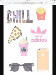 Chill Wallpaper Tumblr Emoji Cute Food Starbucks Drawing Ideas Iphone Wallpapers Image