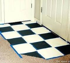 affordable bathroom floor makeover solution how to chalk