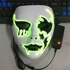 The Purge Masks For Halloween by Online Buy Wholesale Glow In The Dark Masks From China Glow In The