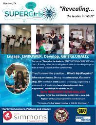 SUPERGirls SHINE Foundation Engage Empower Develop Girls