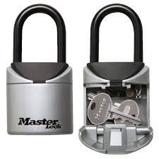 Lockable Medicine Cabinet Bunnings by Masterlock Small Combination Portable Key Safe Officeworks