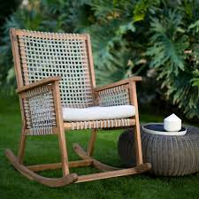 Belham Living Raeburn Rope And Wood Outdoor Rocking Chair In ... Inoutdoor Patio Porch Walnut Resin Wicker Rocking Chair Incredible Pvc And P V C Pipe Project Pearson Pair Of Outdoor Chairs Cushioned Rattan Rocker Armchair Glider Lounge Fniture With Cushion Grey The Portside Plantation All Weather Tortuga Details About 2pc Folding Set Garden Mesh Chaise F7g5 Yardeen 2 Pcs Deck Sea Pines Muriel 3pc White Front Mainstays Cheap Find Deals On Line At