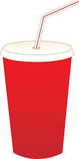 Cup of Soda Pop Free Clip Art
