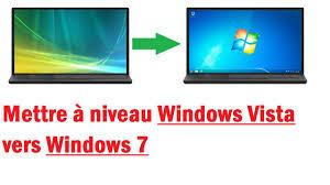 plus de bureau windows 7 passer de windows vista à windows 7 sans formater