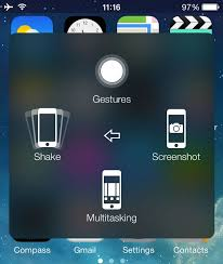 iPhone Assistive Touch Custom Gestures