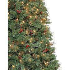 Pre Lit Christmas Tree Rotating Base by Artificial Christmas Tree Pre Lit 7 5 U0027 Hammond Pine Clear Lights