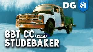100 Studebaker Truck Parts RUNS DRIVES 59 Cummins Swapped EXT CAB Transtar EP3