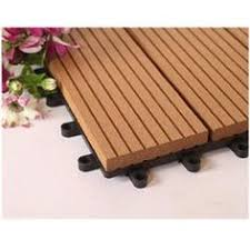 futurewood s wood composite deck tiles are made from solid wood