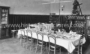 Free Delivery Forest House School The Dining Room Woodford Wells Essex C1905