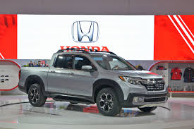 All-New 2017 Honda Ridgeline Pickup Truck Makes Canadian Debut At ... 2019 New Honda Ridgeline Rtle Awd At Fayetteville Autopark Iid Mall Of Georgia Serving Crew Cab Pickup In Bossier City Ogden 3h19136 Erie Ha4447 Truck Portland H1819016 Ron The Best Tailgating Truck Is Coming 2017 Highlands Ranch Rtlt Triangle 65 Rio Ha4977 4d Yakima 15316