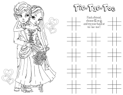 Pleasurable Design Ideas Wedding Coloring Book First Page FREE Activity Pages