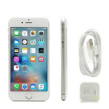 Apple iPhone 6 16GB GSM FACTORY UNLOCKED Silver Refurbished