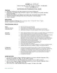Biotech Resume Examples