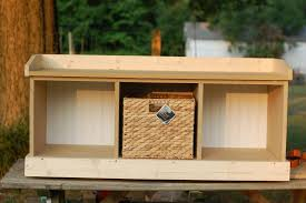 bench plans seating woodindoor wooden diy indoor storage photo