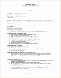 Teaching Sample Resume Refrence Website Examples New Inspirational Resumes Ecologist