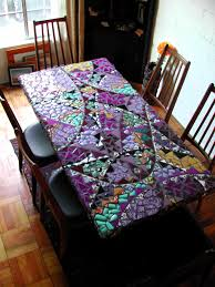 enchanting mosaic dining room table including how to makemosaic
