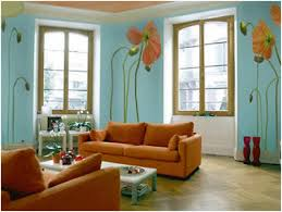 living room living room light blue and brown color scheme