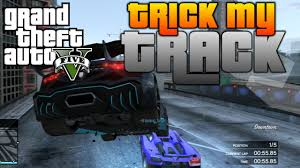 GTA V - Trick My Track #8 | Race Creator Competition | City Highway ...