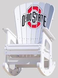 The Ohio State University Rocking Chair Hardwood Rocking Chair Ohio State Jumbo Slat Black Ncaa University Game Room Combo 3 Piece Pub Table Set The Best Made In Amish Chairs For Rawlings Buckeyes 3piece Tailgate Kit Products Smarter Faster Revolution Axios Shower Curtain 1 Each Michigan Spartans Trademark Global Logo 30 Padded Bar Stool