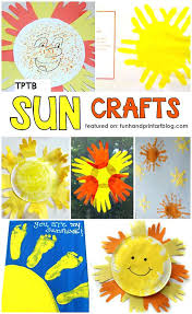 Cake Ideas For Baby Shower Girl Sun Craft Cheerful Summer Projects Kids Crafts