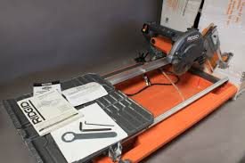 Workforce Tile Saw Thd550 Ebay by 7 Wet Tile Saw Pictures To Pin On Pinterest Pinsdaddy