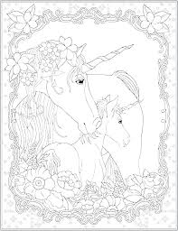 Pegasus Unicorn Coloring Pages Hard Unicorns Cute