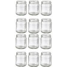 pots de confiture vides lakeland pots de confiture vides en verre 25 cl 250 g x 12 pots
