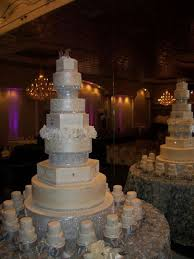 Beautiful White Wedding Cakes With Bling 11