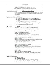 Resume Examples Executive Assistant Administrative Samples Free Edit With Word