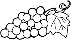 Detail Nice Grapes Coloring Pages