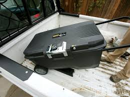 Stanley Theft-Proof ToolBox Photo & Image Gallery Slide In Tool Box For Truck Bed Accsories Boxes Liners Racks Decked Pickup And Organizer How To Install A Storage System Bed Storage Black Powdercoated Steel Gullwing Truckbed For 6 Beds Video Honda Ridgeline Again Bests Chevy Ford With Another Lund Inc Full Lid Cross Reviews Wayfair Best Carpentry Contractor Talk Tote Trailer Tongue W Lock 49x15 Work Safety Why Spend 65k On Fancy New Truck Bedside When You Access Edition Tonneau Cover 8 23 64189 Lightduty Made Your
