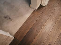 transition from tile to wood tile to wood floor transition
